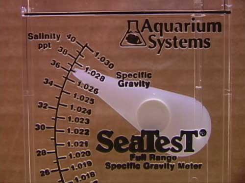 instant ocean hydrometer. the seatest swing arm hydrometer. instant ocean hydrometer l
